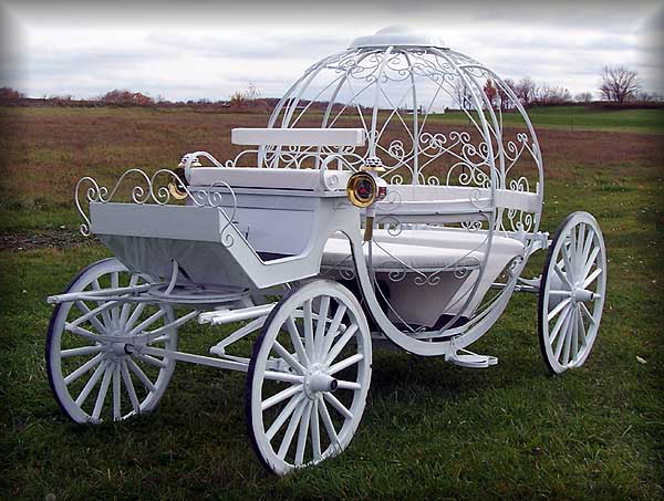 Cinderella carriage by Justin Carriage Works