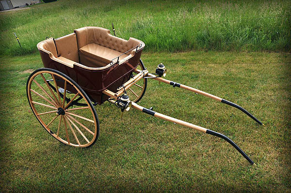 Auto Parts For Sale >> Justin Carriage Works - Governess Cart