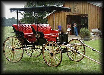 American Carriage Horse Carriage Surreys